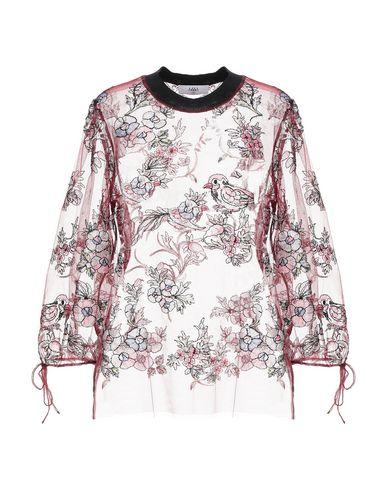 Купить Женскую блузку  красно-коричневого цвета