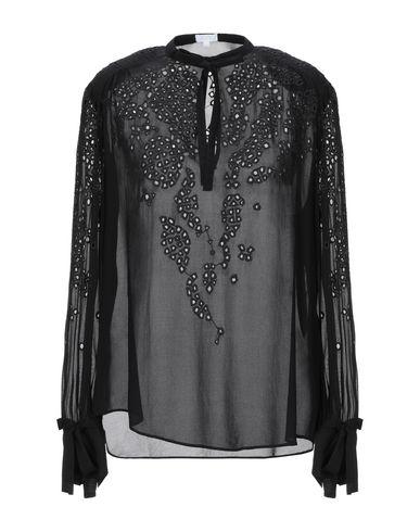 Фото - Женскую блузку LALA BERLIN черного цвета