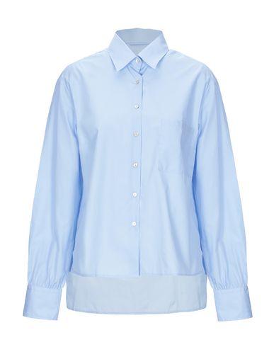 Купить Pубашка от SO небесно-голубого цвета