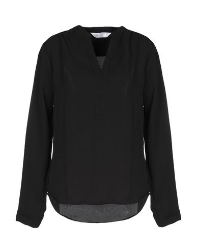 Фото - Женскую блузку ANONYME DESIGNERS черного цвета