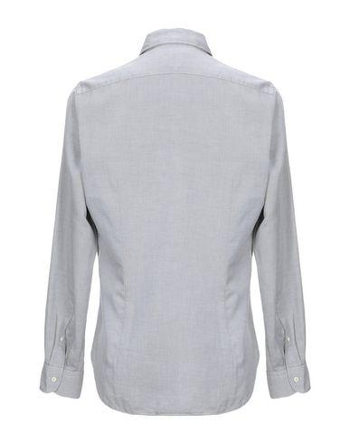 Фото 2 - Pубашка от AGHO серого цвета