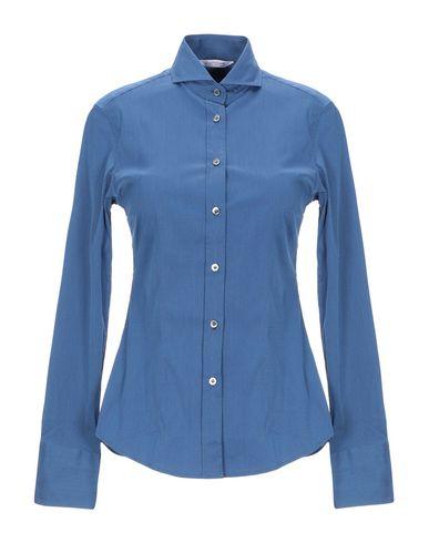 Фото - Pубашка от GUGLIELMINOTTI синего цвета