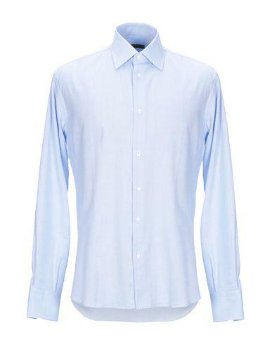 Фото - Pубашка от J.W. SAX  Milano небесно-голубого цвета