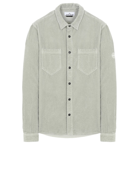 STONE ISLAND 11209 Long sleeve shirt Man Dust Gray