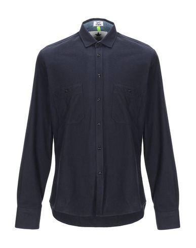 Купить Pубашка от MACCHIA J темно-синего цвета