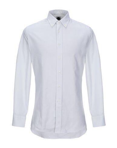 Фото - Pубашка светло-серого цвета