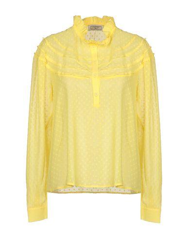 Фото - Pубашка от GRETHA Milano желтого цвета