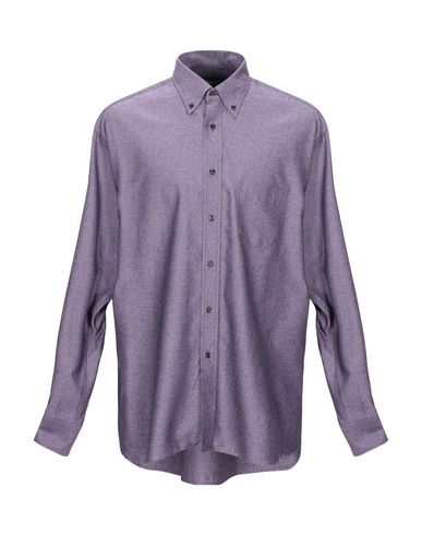 Фото - Pубашка от MIRTO фиолетового цвета