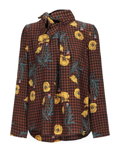 Фото - Женскую блузку MOLLY BRACKEN коричневого цвета