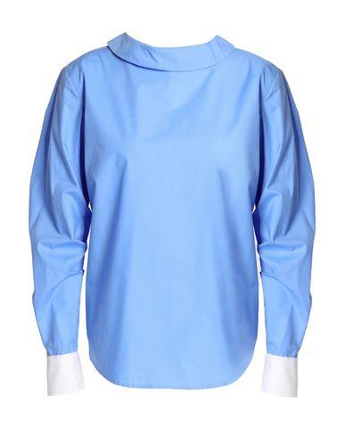 Фото - Женскую блузку CLAUDIE PIERLOT лазурного цвета