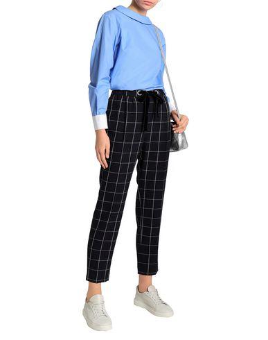 Фото 2 - Женскую блузку CLAUDIE PIERLOT лазурного цвета
