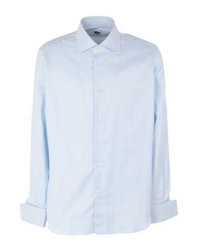 Фото - Pубашка от LEXINGTON небесно-голубого цвета