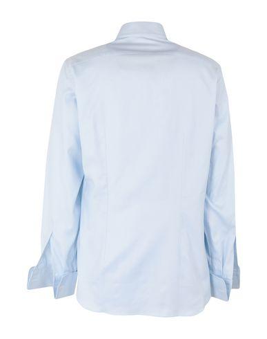 Фото 2 - Pубашка от LEXINGTON небесно-голубого цвета
