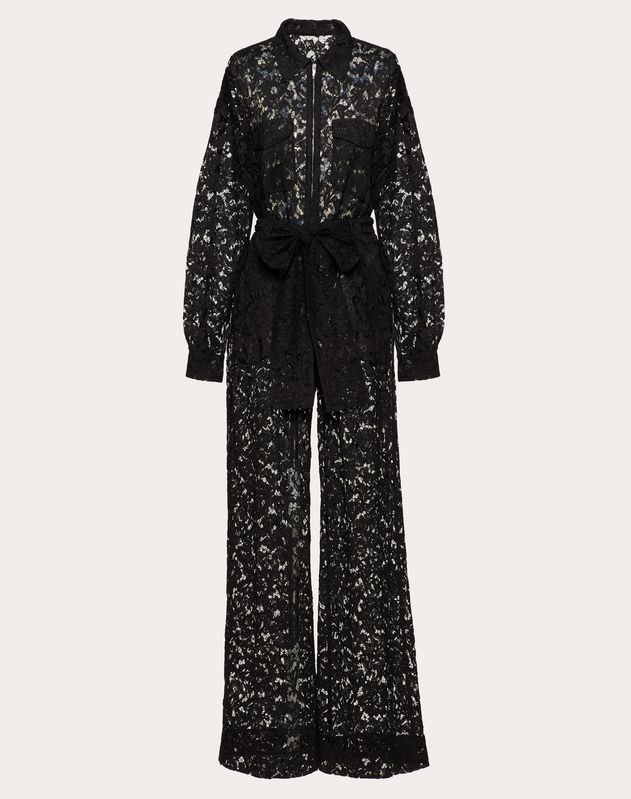 Heavy Lace Jumpsuit