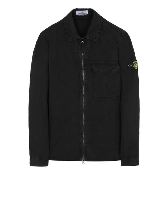 STONE ISLAND 衬衫外套 115WN 'OLD' DYE TREATMENT