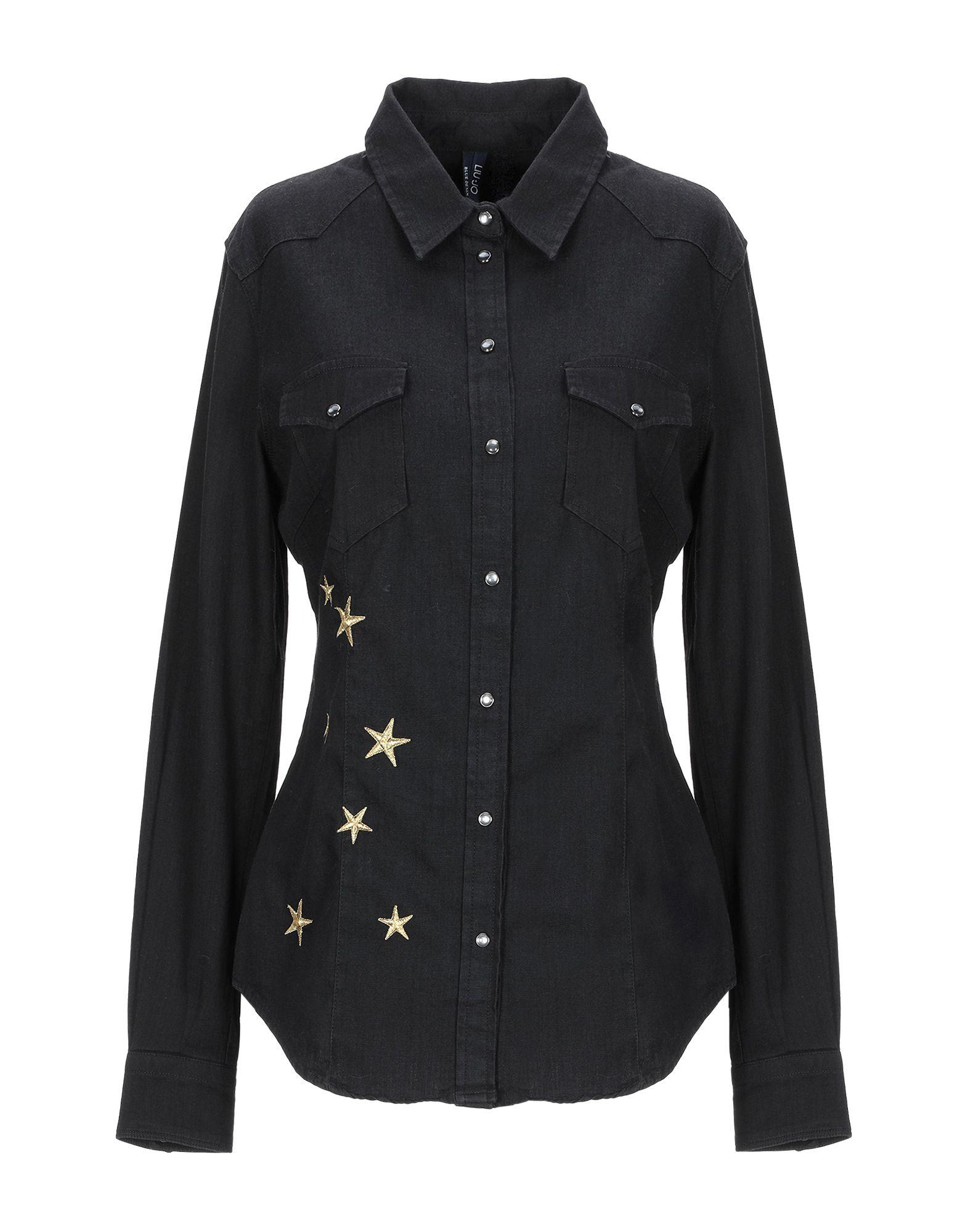 LIU •JO Джинсовая рубашка цена 2017