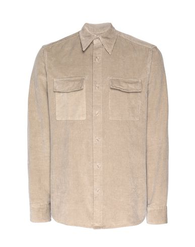 Купить Pубашка от 8 by YOOX цвет голубиный серый