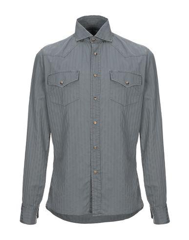 Купить Pубашка цвет стальной серый