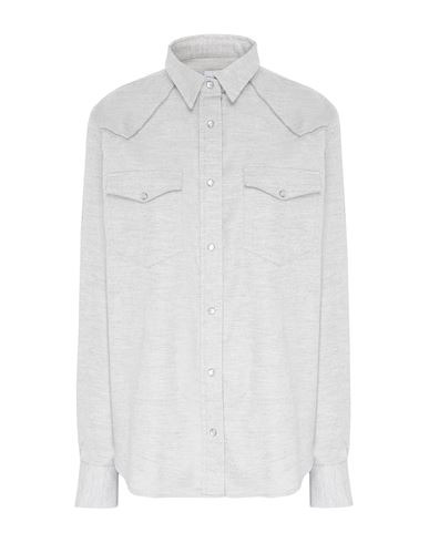 Купить Pубашка от 8 by YOOX светло-серого цвета
