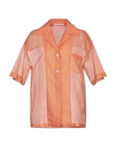 Купить Pубашка оранжевого цвета