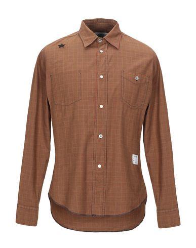 Фото - Pубашка от THE EDITOR коричневого цвета