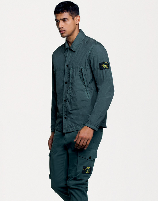 38860230fq - OVER SHIRTS STONE ISLAND