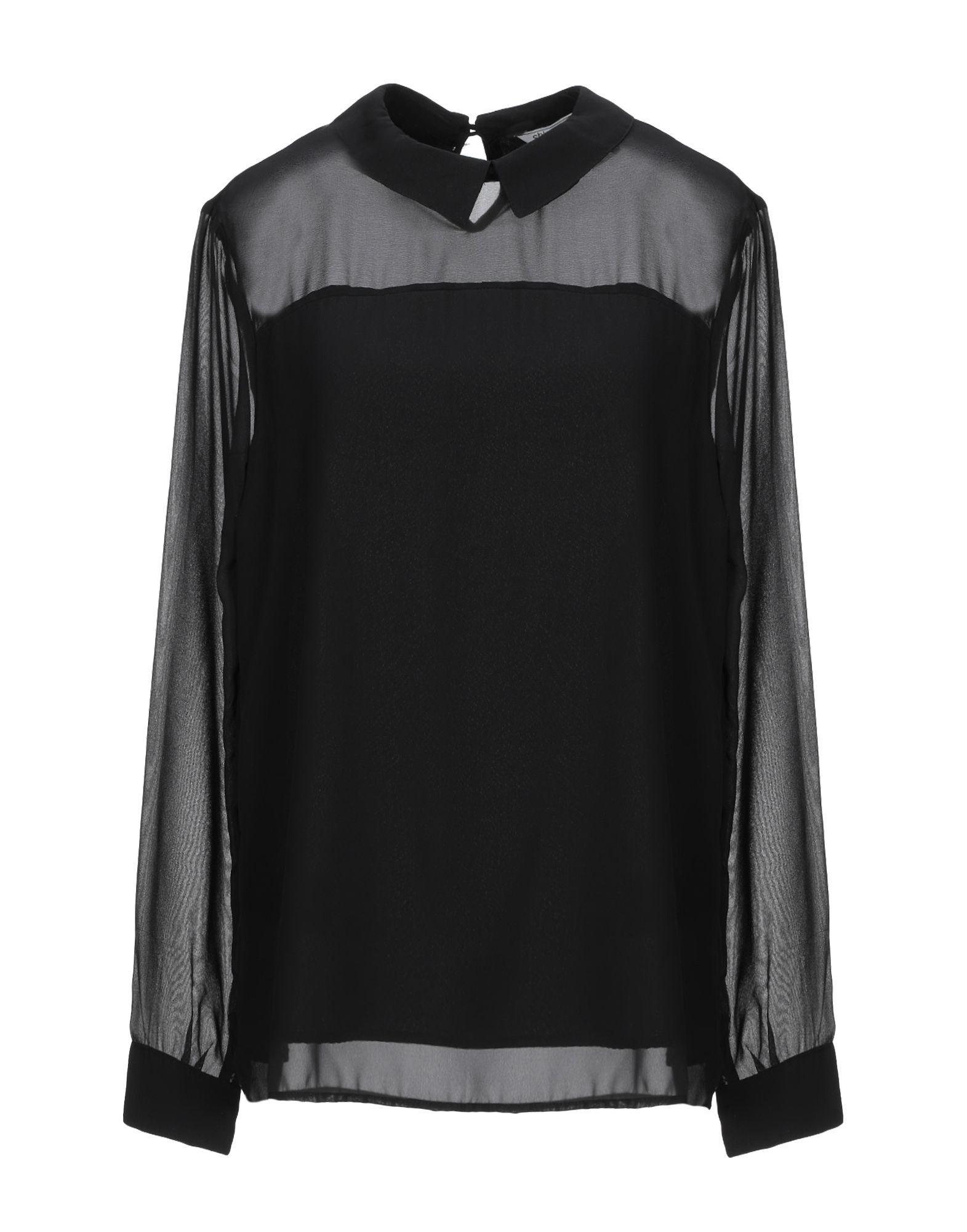 SH by SILVIAN HEACH Блузка блузка женская silvian heach benifato цвет черный синий pga18120bl black navy размер l 46