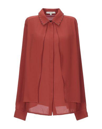 Фото - Pубашка от KORALLINE ржаво-коричневого цвета