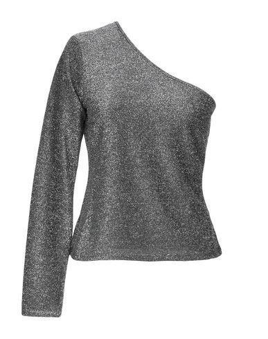 Фото - Женскую блузку NA-KD свинцово-серого цвета