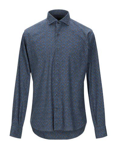 Фото - Pубашка от ORIAN темно-синего цвета