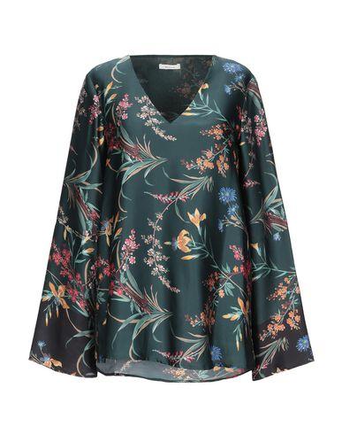 Фото - Женскую блузку  темно-зеленого цвета