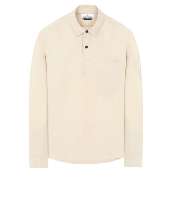STONE ISLAND 11601  Long sleeve shirt Man Sand