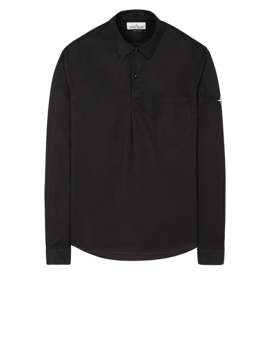 STONE ISLAND 11601  Long sleeve shirt Man Black