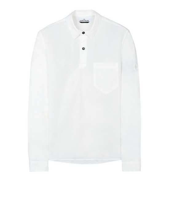 STONE ISLAND 11601  Long sleeve shirt Man Ivory