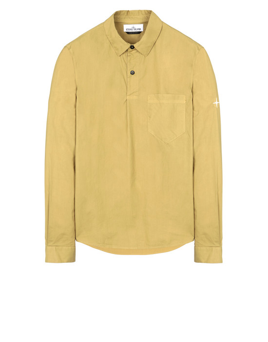 STONE ISLAND 11601  Long sleeve shirt Man Mustard