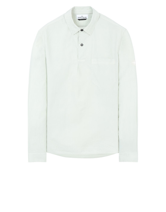 STONE ISLAND 11601  Long sleeve shirt Man Dust Gray