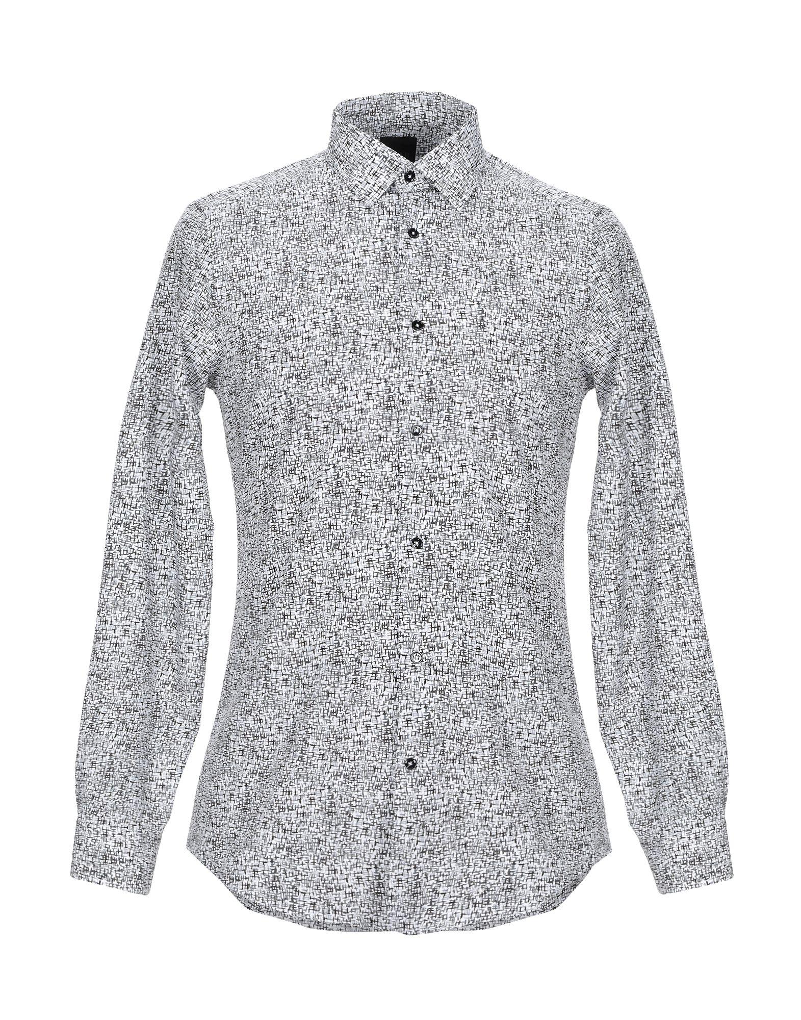 《セール開催中》LAB. PAL ZILERI メンズ シャツ ホワイト 40 コットン 100%