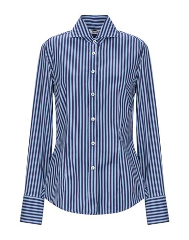 Купить Pубашка синего цвета