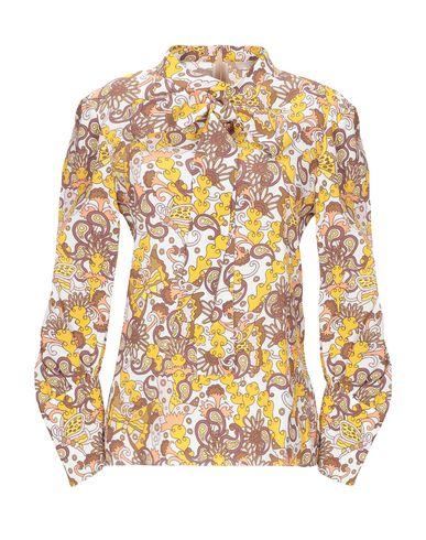 Фото - Женскую блузку CHLOÉ желтого цвета