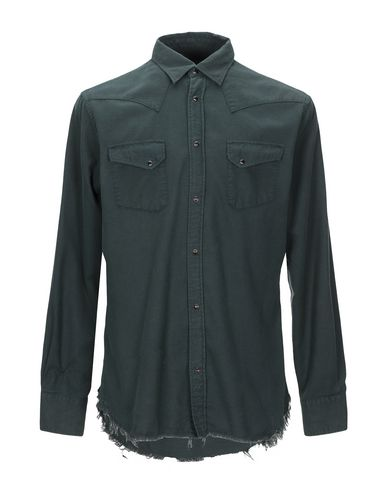 Купить Pубашка от MACCHIA J темно-зеленого цвета