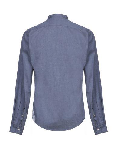 Фото 2 - Pубашка от JACOPO C. грифельно-синего цвета