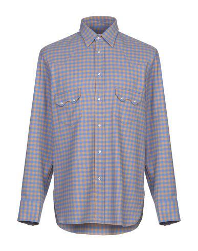 Купить Pубашка ярко-синего цвета