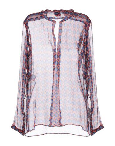 Фото 2 - Женскую блузку ASPESI красного цвета