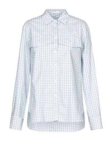Купить Pубашка от MANTÙ небесно-голубого цвета