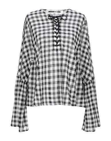 Купить Женскую блузку McQ Alexander McQueen черного цвета