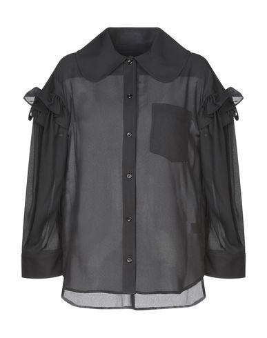 Купить Pубашка от SIMONE ROCHA черного цвета
