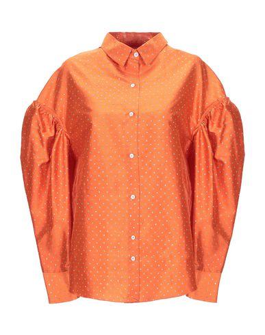 Купить Pубашка от VIRGINIA BIZZI оранжевого цвета