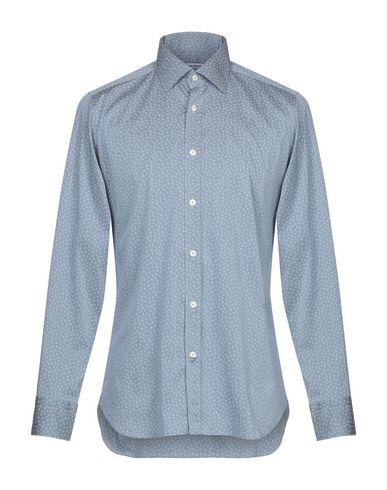 Купить Pубашка пастельно-синего цвета