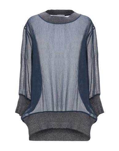 Купить Женскую блузку FABIANA FILIPPI темно-синего цвета