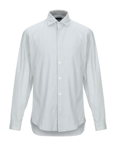 Купить Pубашка от LIU •JO MAN светло-серого цвета